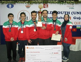 ایران به مدال برنز المپیاد شطرنج زیر 16 سال جهان رسید