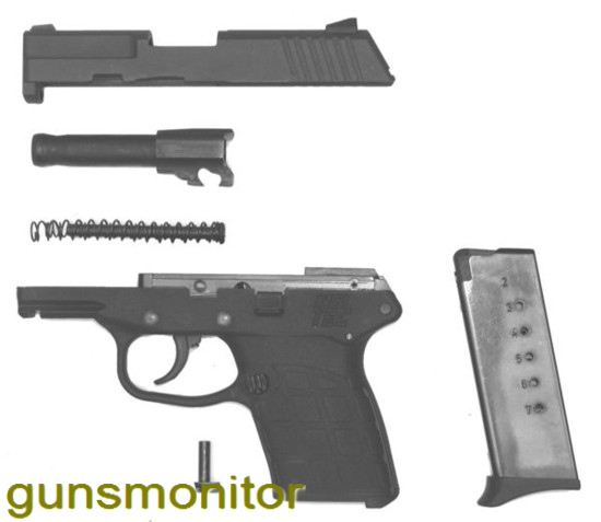 سبک ترین و کم حجم ترین اسلحه 9 میلیمتری جهان(+عکس)