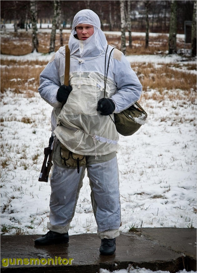 کمپ آموزشی تک تیراندازان روس (+عکس)