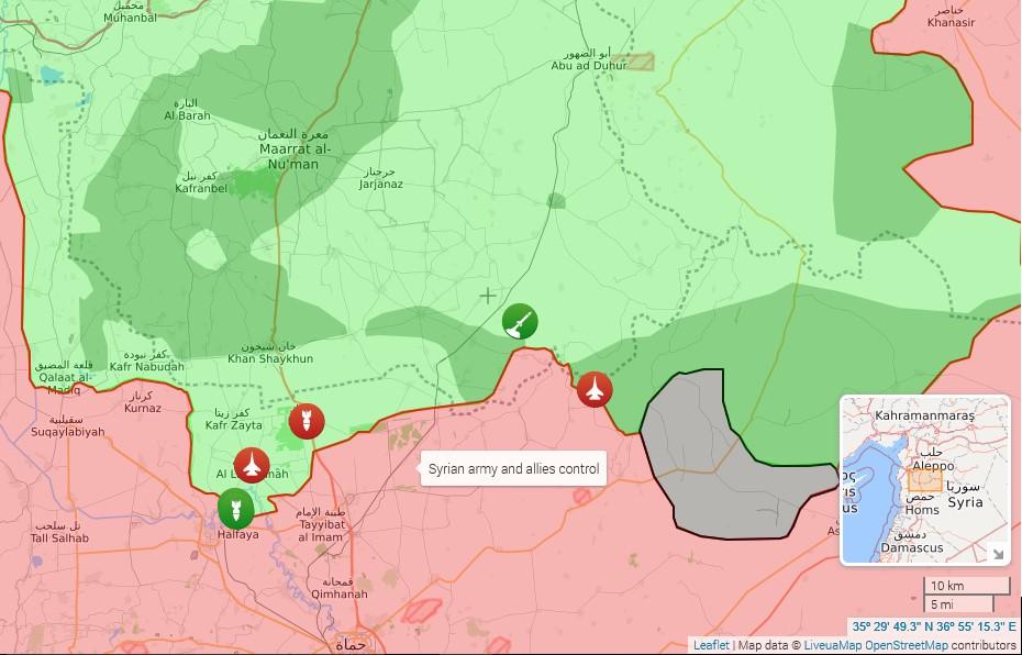 آخرین تحولات میدانی در سوریه