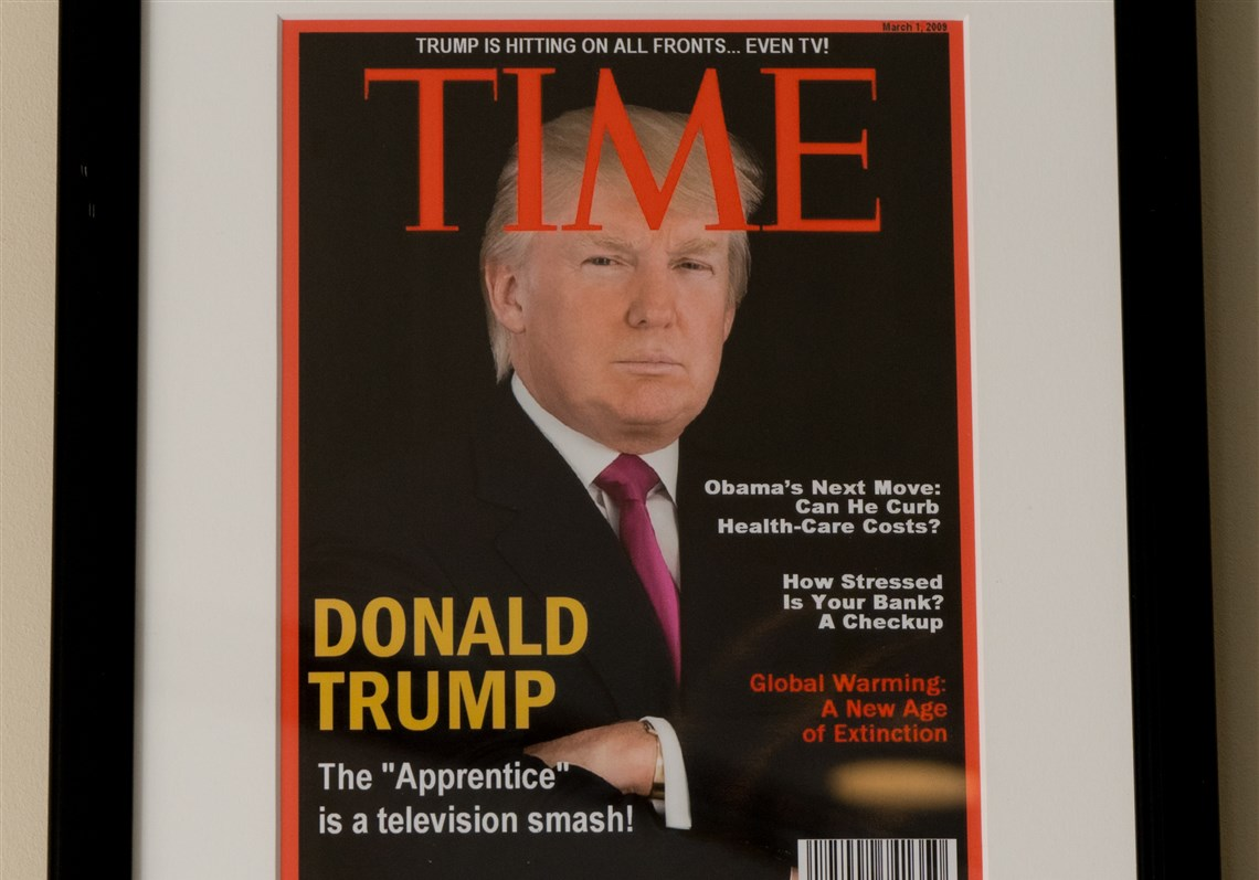 ترامپ و آرزوی برباد رفته شخصیت امسال مجله تایم!