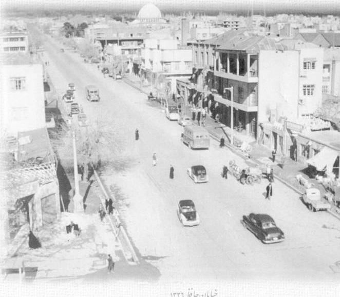 خیابان حافظ، 60 سال قبل (عکس)
