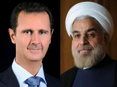 تماس تلفنی روحانی - بشار اسد / روحانی: معارضین در آینده سوریه سهم داشته باشند / بشار اسد: ایران در بازسازی سوریه شرکت کند