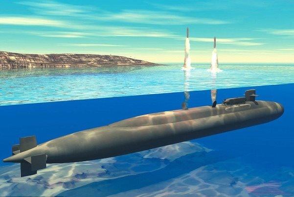 زیردریایی روسی با قابلیت پرتاب ۲۰ کلاهک هسته ای (+عکس)