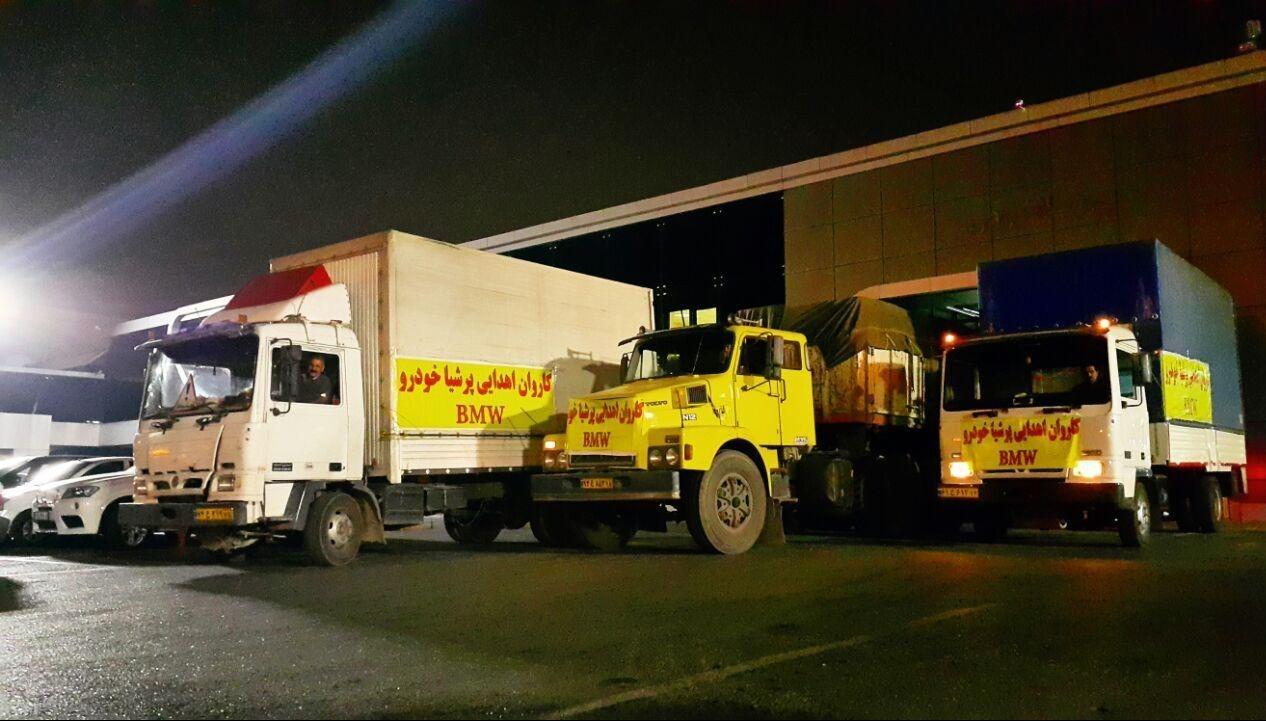 پرشیا خودرو با ارسال کانکسهای مجهز به غرب کشور، به یاری زلزلهزدگان شتافت (+عکس)