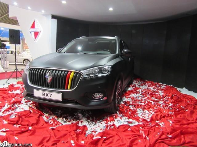 رونمایی  بوگوارد از 2 دو شاسی بلند جدیدش در نمایشگاه خودروی تهران (+عکس)