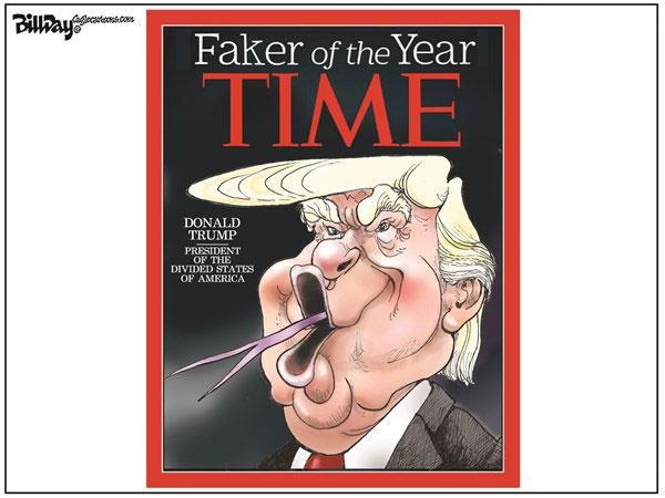 دروغگوی سال انتخاب شد!