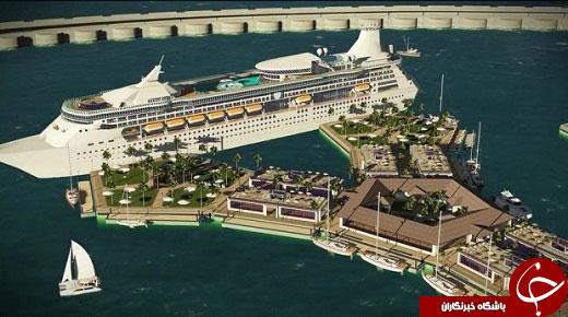 ساخته شدن شهری روی اقیانوس آرام تا ۲۰۲۲ (عکس)