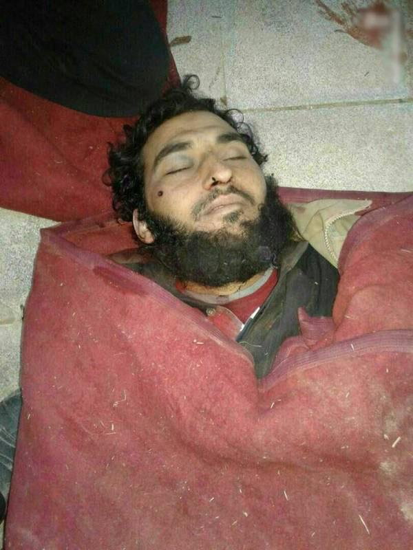 هلاکت فرمانده افغانی در سوریه (+عکس)