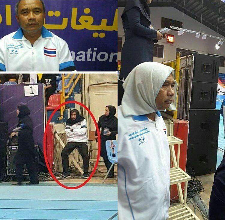 کاش روسری سر کردن مرد تایلندی در ایران دروغ باشد