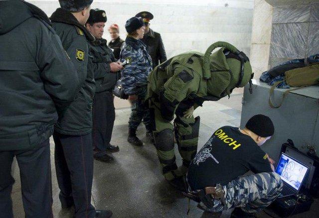 تخلیه مرکز تجاری مسکو به دنبال تهدید به بمب گذاری