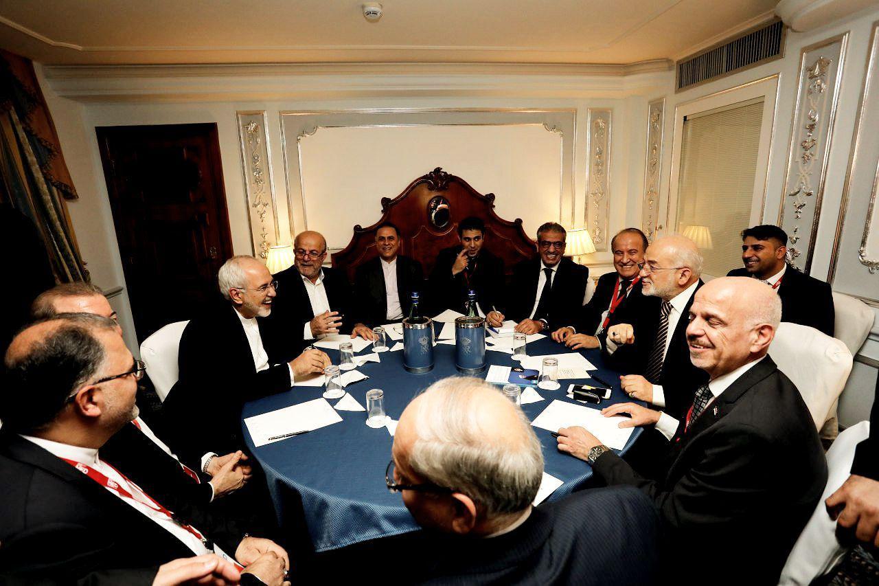 دیدار وزرای خارجه ایران و عراق در رم (+عکس)