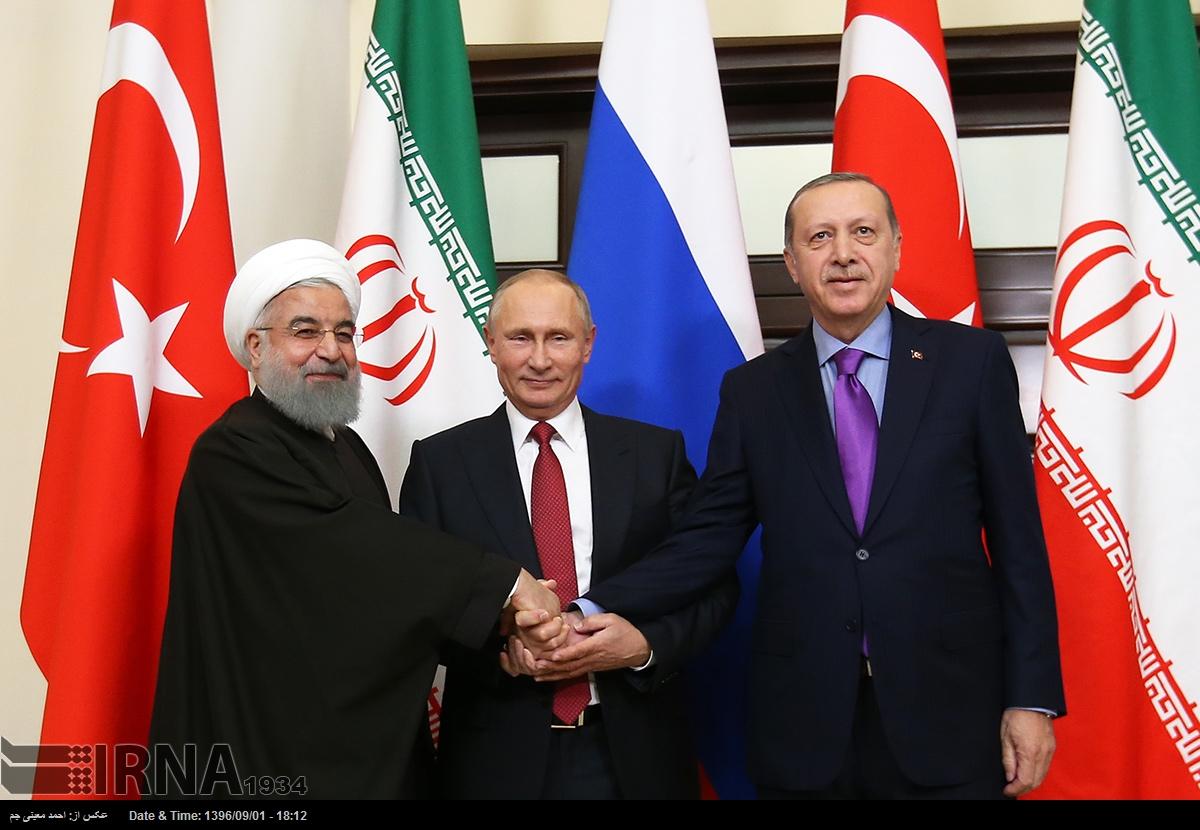 روحاني، پوتين و اردوغان در آنكارا ديدار ميكنند