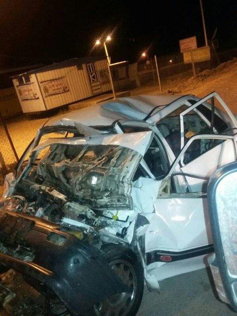 تصادف مرگبار اتوبوس با پراید در جاده یاسوج به اصفهان (+عکس)