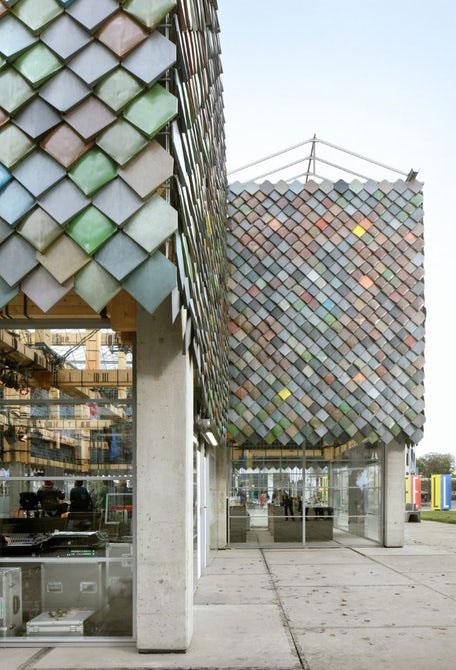احداث ساختمانی در هلند با استفاده از زباله  عکس