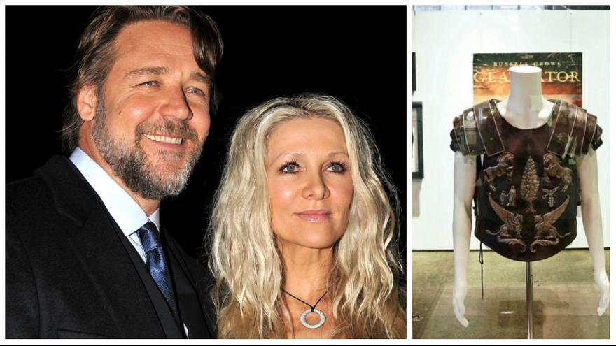 حراجی «هنر طلاق گرفتن» راسل کرو؛ زره گلادیاتور ۱۰۰ هزار دلار فروخته شد (+عکس)