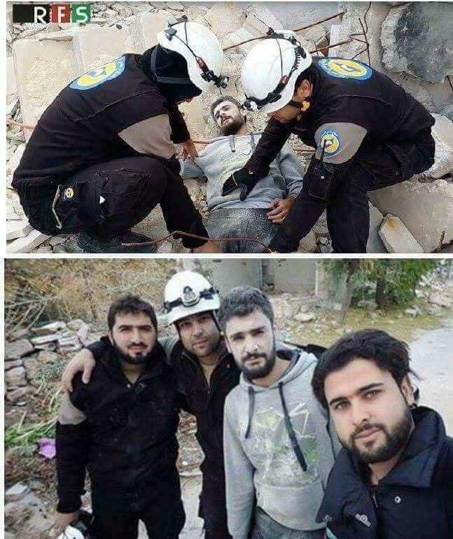 تصویری که ساختگی بودن حمله شیمیایی سوریه را نشان داد (+عکس)