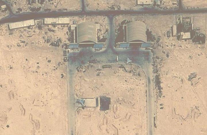 پایگاه پهپادهای ایرانی، هدف حمله اسرائیل به سوریه