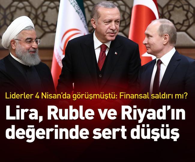 آیا سقوط همزمان ارزش ریال ایران، لیر ترکیه و روبل روسیه اتفاقی است؟
