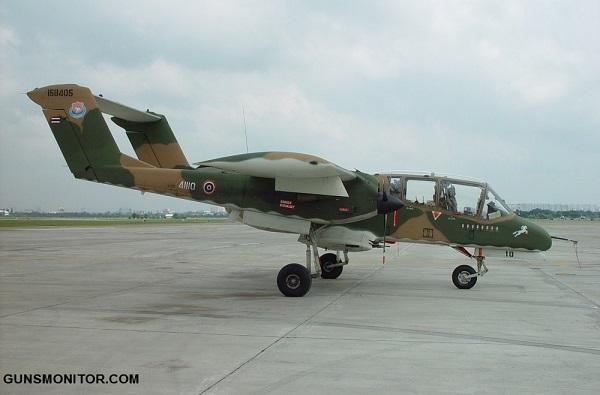 هواپیمای تهاجمی نورث آمریکن راکول OV-10 برونکو(+تصاویر)