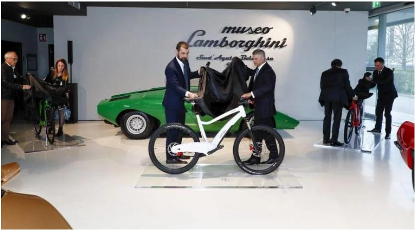 لامبورگینی دوچرخه الکتریکی میسازد