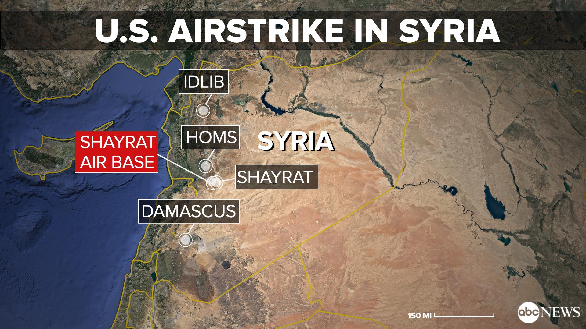 حمله آمریکا، بریتانیا و فرانسه به سوریه/ شلیک بیش از 100 موشک