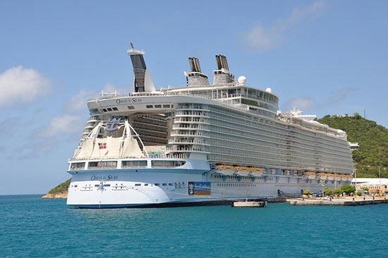 9 فروند از بزرگترین کشتیهای جهان را بشناسید (+عکس)