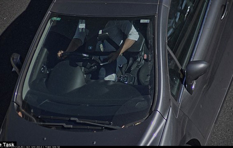 جریمه رانندگان گوشی به دست به صورت نامحسوس (+عکس)