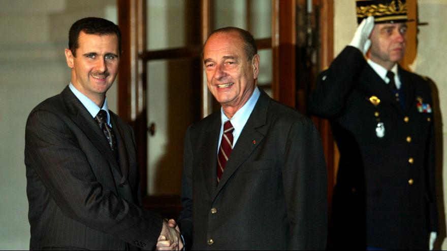 فرانسه نشان شوالیه را از بشار اسد پس می گیرد