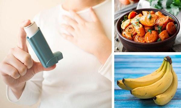 نسخه غذایی برای آسم