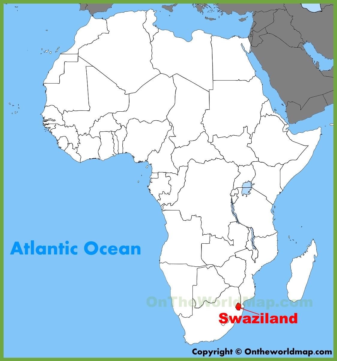 تغییر نام رسمی پادشاهی مطلقه سوازیلند به