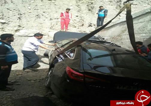 تصادف مرگبار در جاده هراز (+عکس)