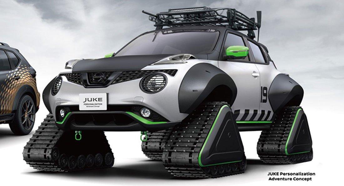 جوک برفنورد نیسان به نمایشگاه خودرویی ژاپن میرود
