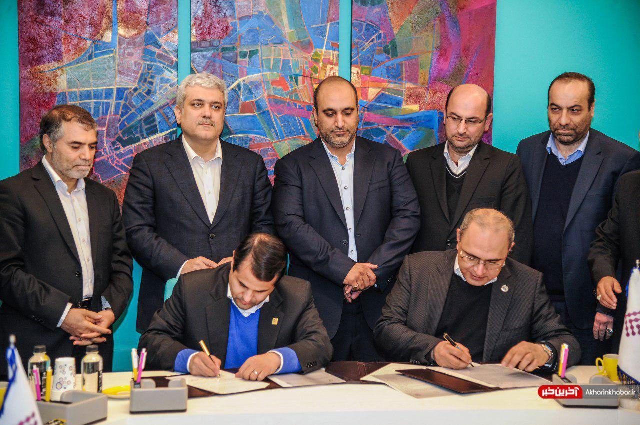 امضای تفاهمنامه دو جانبه بین شهرداری مشهد و شتاب دهنده کسب و کار فردوسی