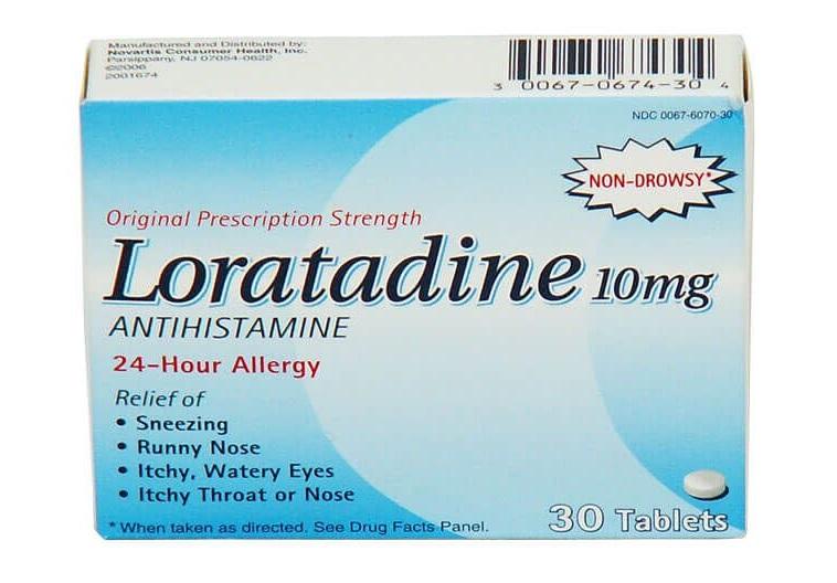 معرفی قرص لوراتادین (Loratadine)/ موارد مصرف/ عوارض جانبی