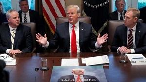 ترامپ: سوریه جز ماسه و مرگ نیست