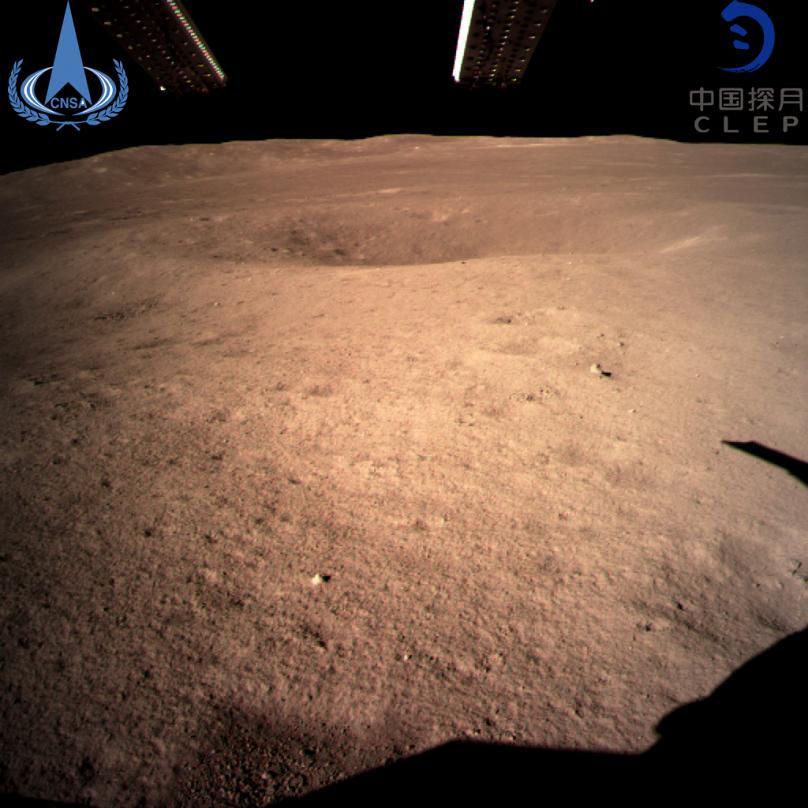 کاوشگر چینی برای اولین بار بر نیمه پنهان ماه فرود آمد