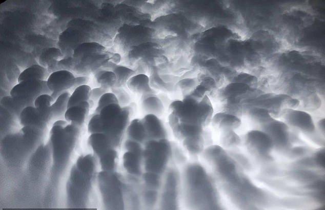ظهور ابرهای عجیب در آسمان سیدنی (+عکس)