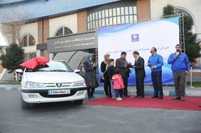 پاداش ایران خودرو به مسافر  پژو پارس سوار جام جهانی (+عکس)