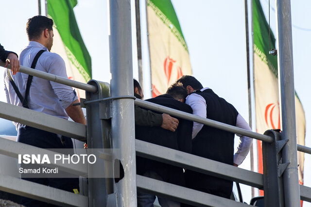 انصراف جوان کرجی از خودکشی (+عکس)