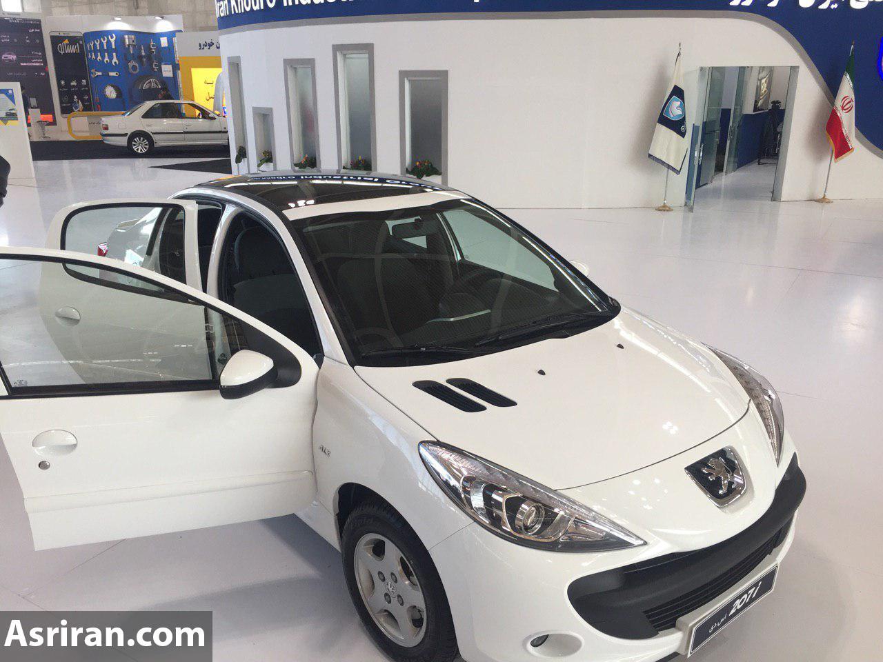 ایران خودرو 207  صندوقدار و هاچ بک با سقف شیشه را به نمایش گذاشت (+عکس)