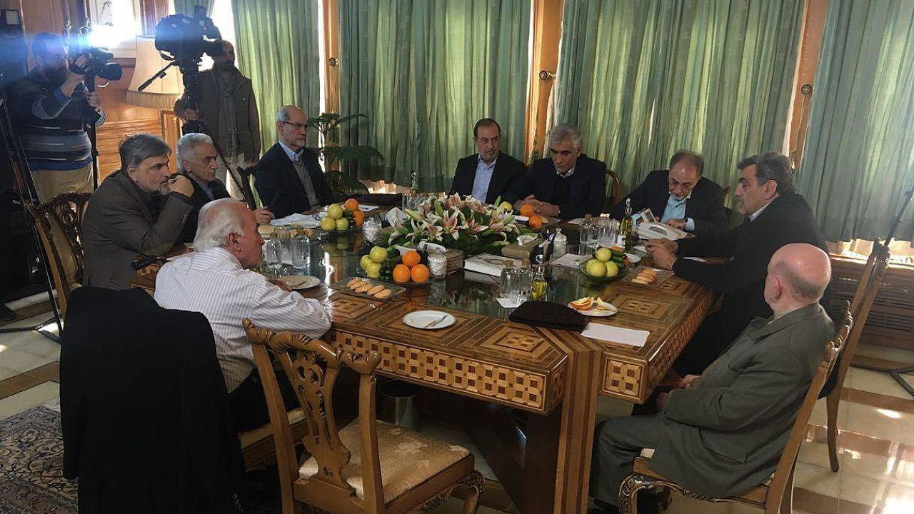 دیدار شهرداران پس از انقلاب/ غیبت احمدی نژاد و قالیباف (+عکس)