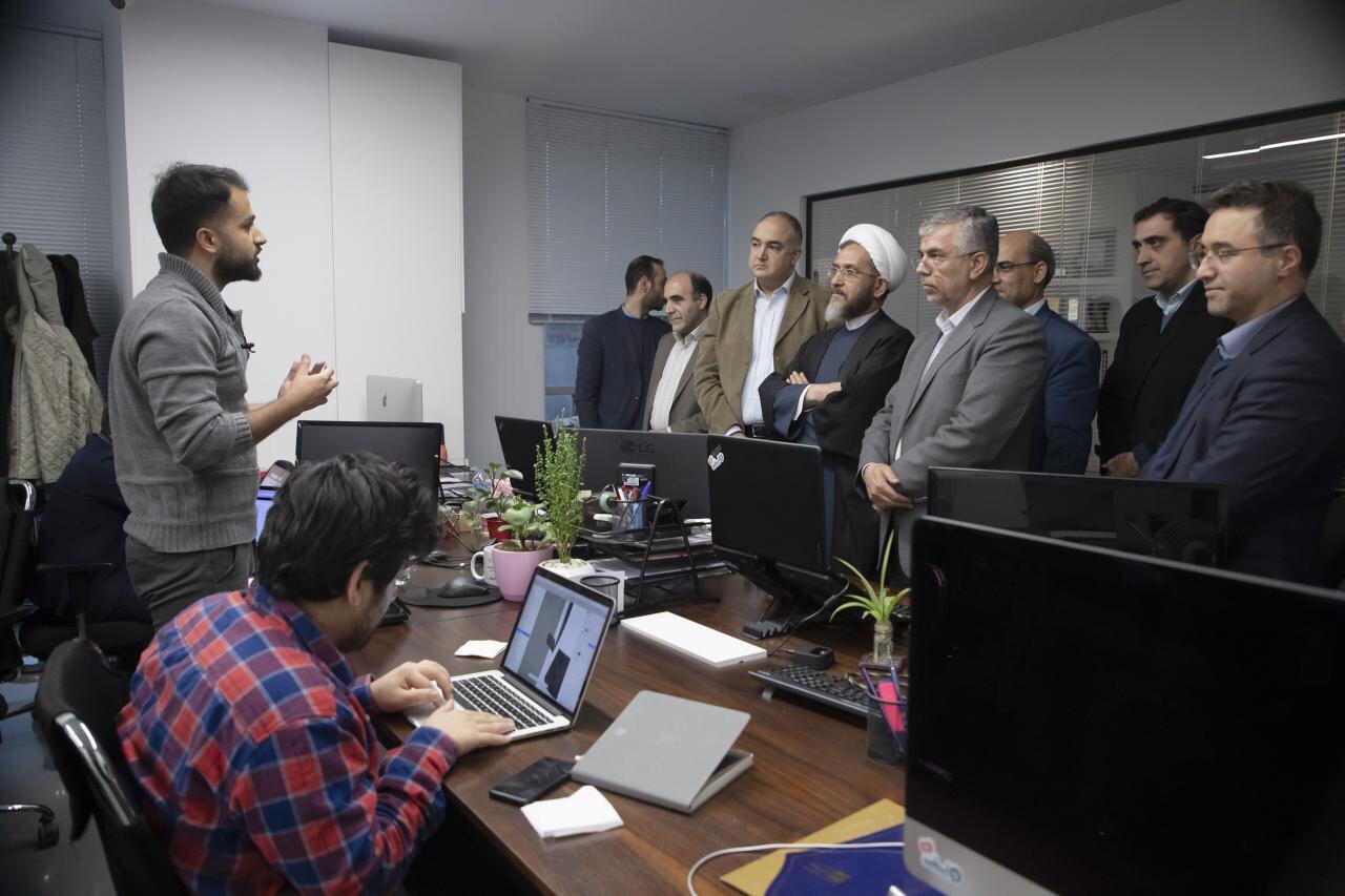 بازدید رئیس و اعضای کمیسیون فرهنگی مجلس از مجموعه اسنپ