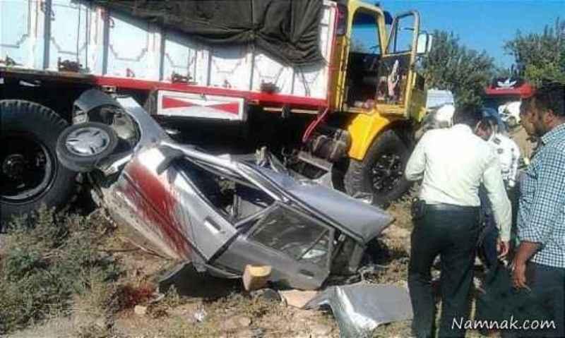 8 کشته در تصادف جاده خراسان رضوی