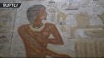 مقبره تازه کشف شده در شهر مردگان سقاره، از ۴۴۰۰ سال قبل چه میگوید (فیلم)