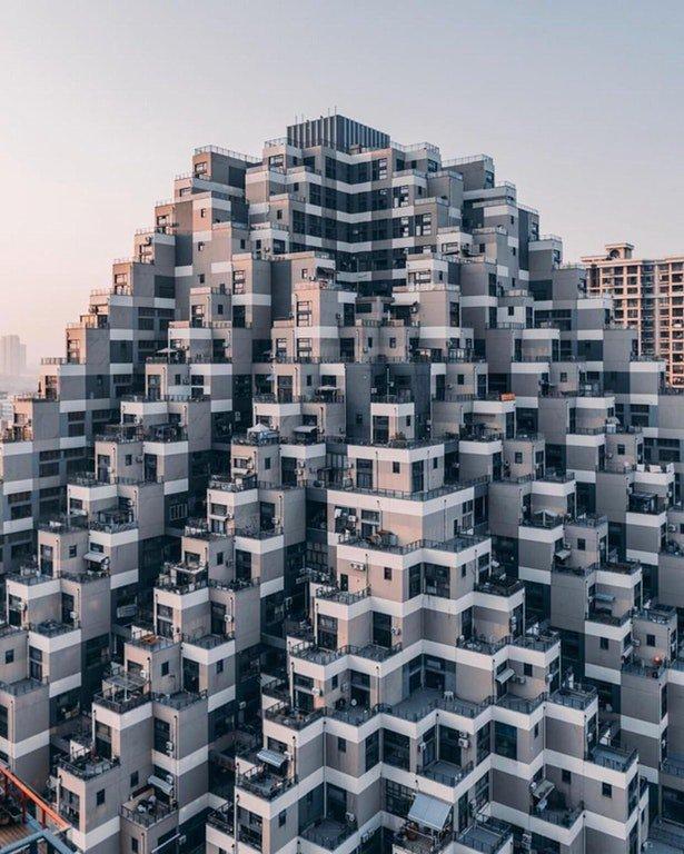 آپارتمانی متفاوت در چین (عکس)