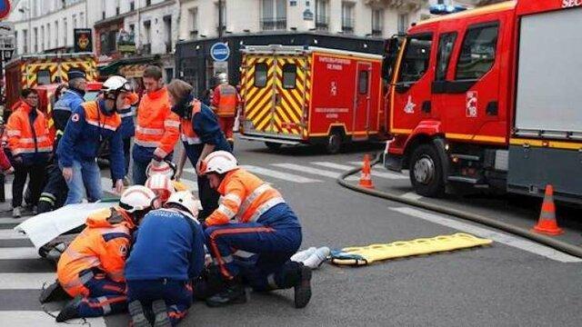 مرگ ۴ مجروح حادثه انفجار گاز در پاریس
