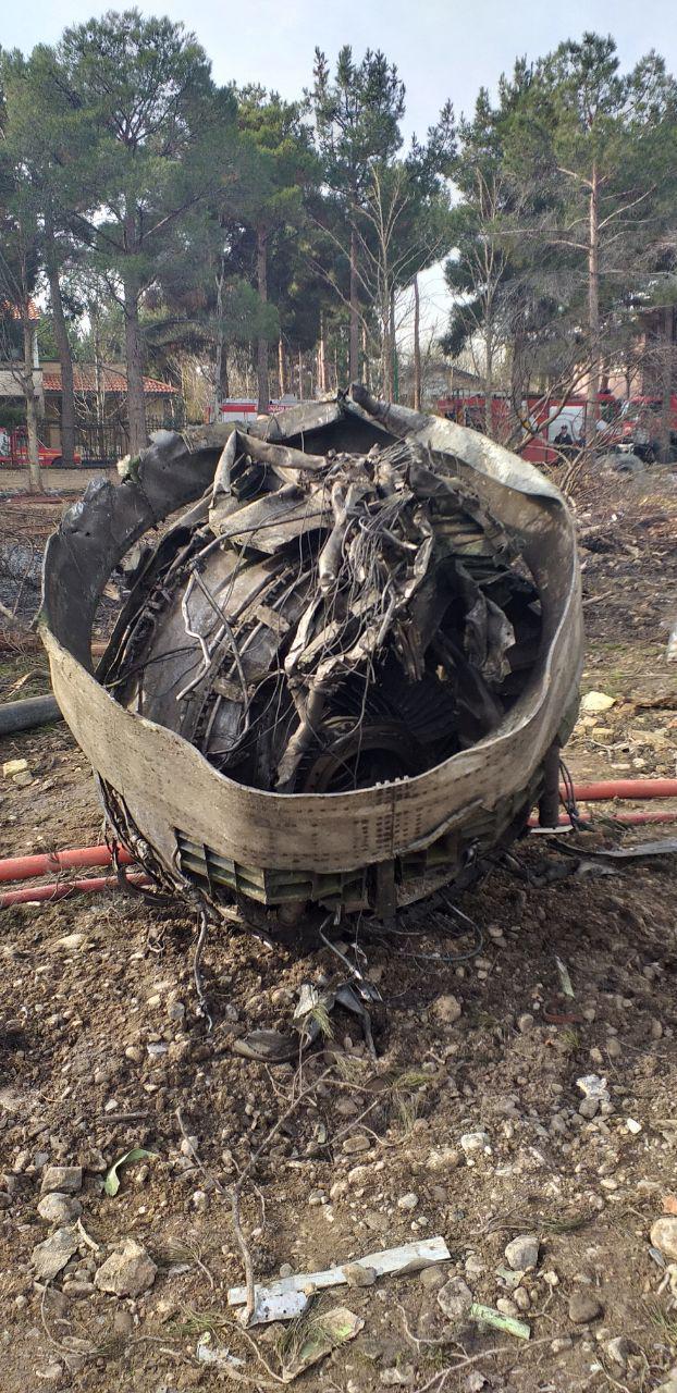گزارش تصویری از سقوط هواپیما در نزدیکی کرج