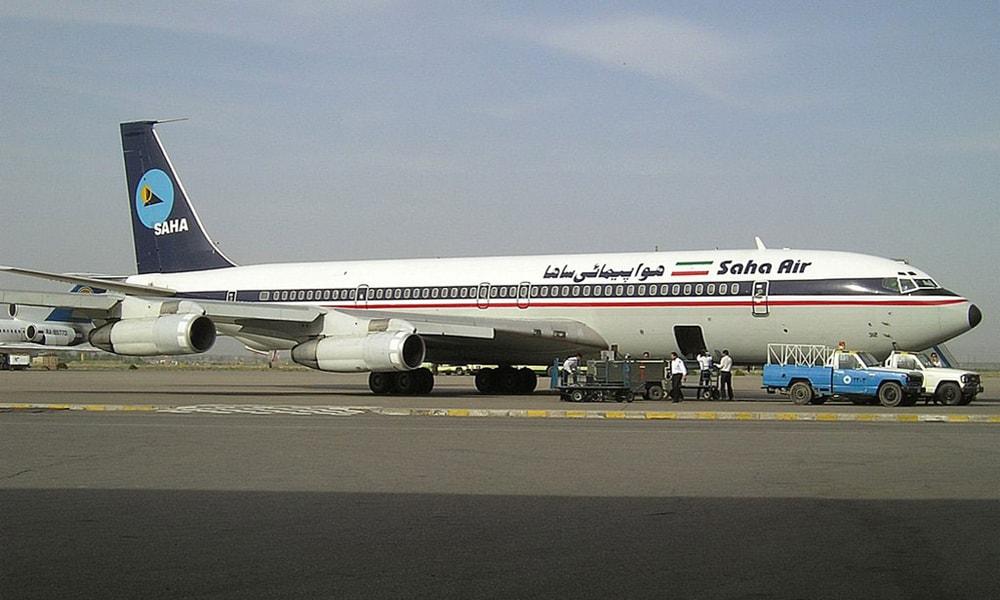 مقایسه رنگ سازمانی هواپیمایی ساها و هواپیمای سقوط کرده / چرا هواپیمای سانحه دیده نوشته و آرم ندارد؟ (عکس)