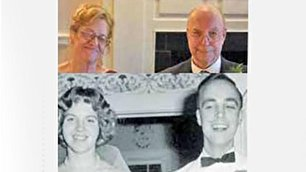 ازدواج دو همکلاسی بعد از 57 سال (+عکس)